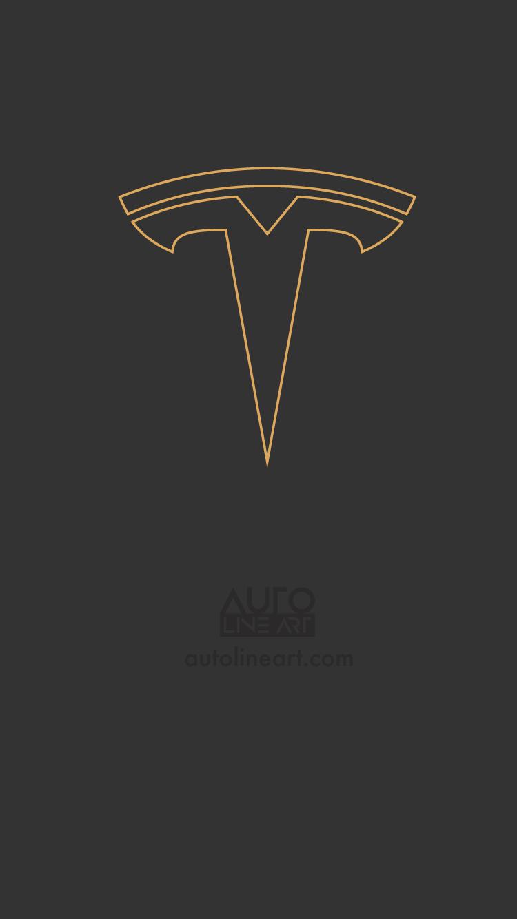 20] Tesla Logo Wallpapers on WallpaperSafari 750x1334