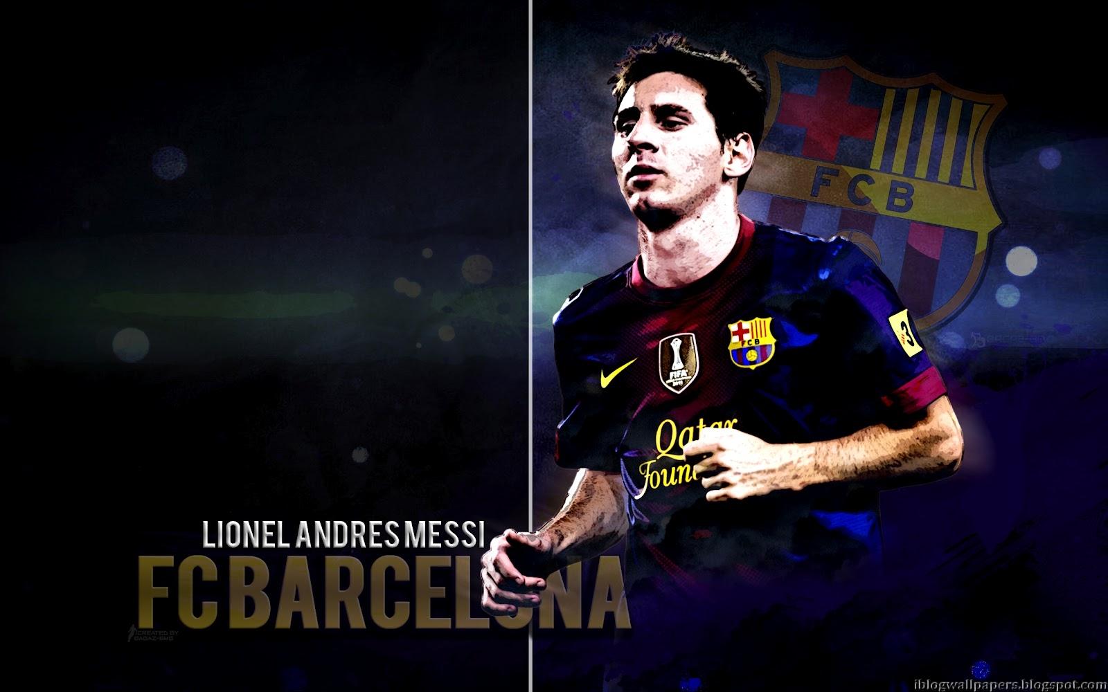 Lionel Messi Barcelona Wallpaper HD Download Wallpaper 1600x1000