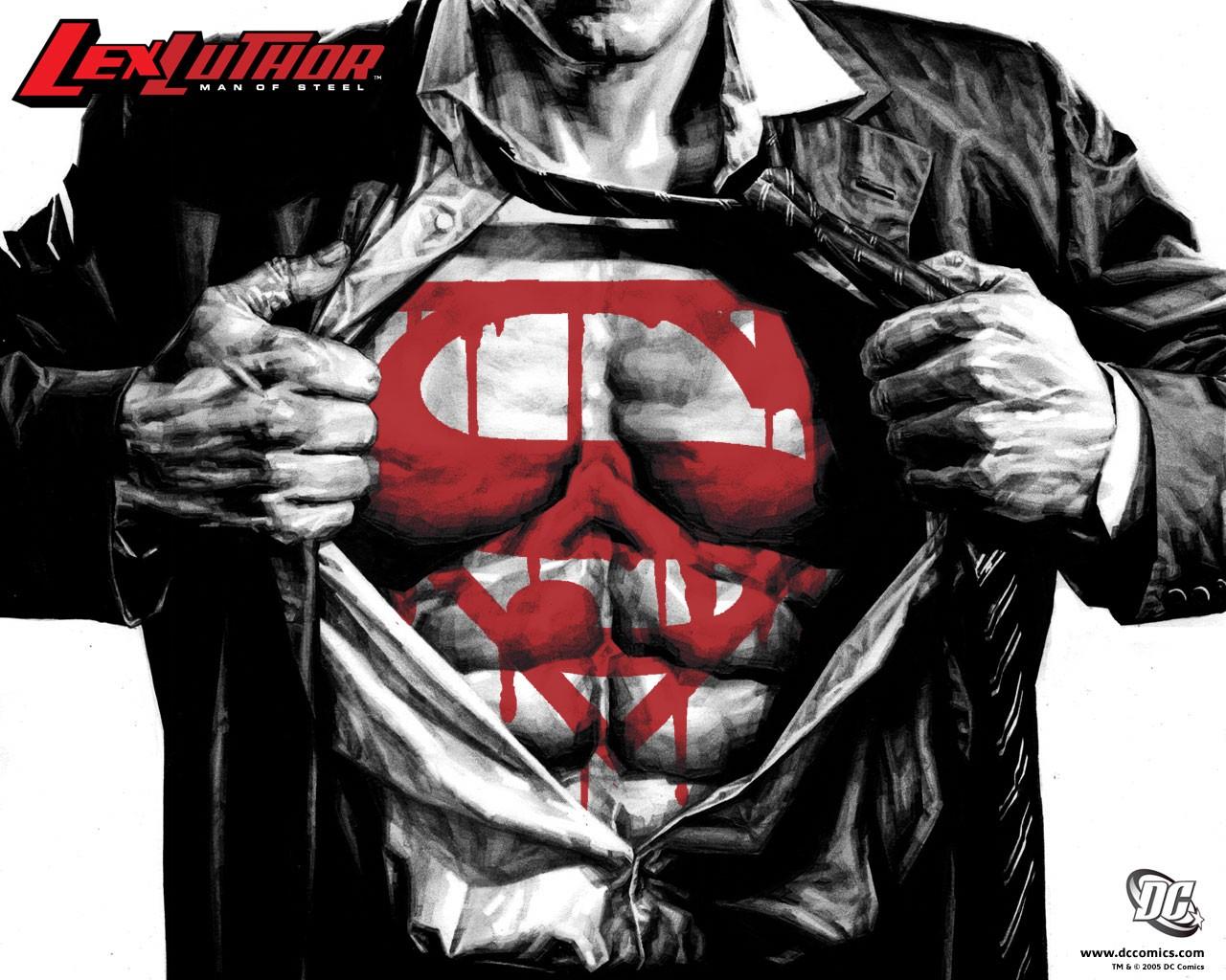 DC Comics Wallpaper 1280x1024 DC Comics Comics Superman Lex 1280x1024