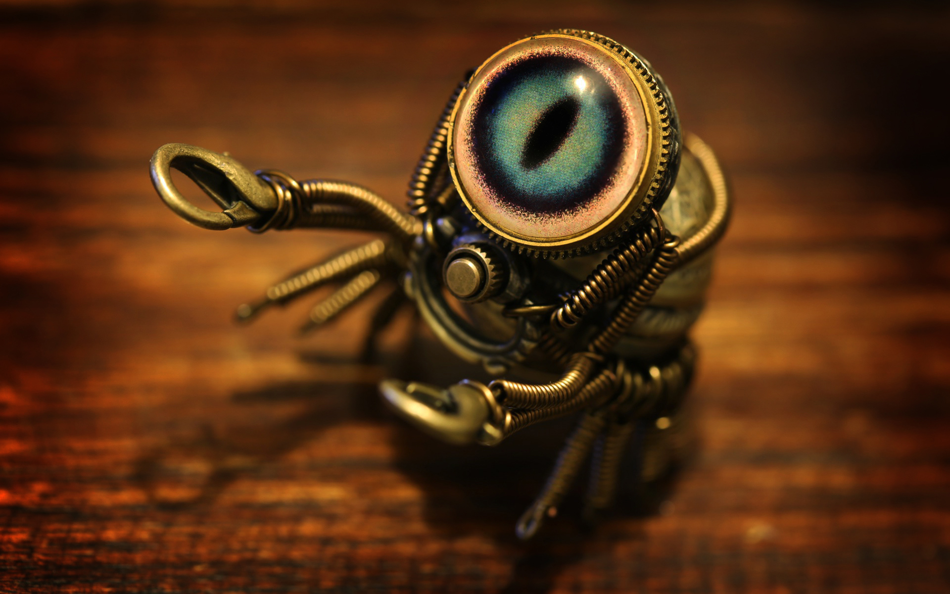 Steampunk Crab HD Wallpaper 1920x1200