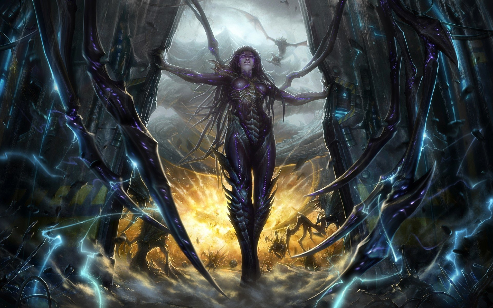 88 Starcraft II HD Wallpapers Background Images 1920x1200