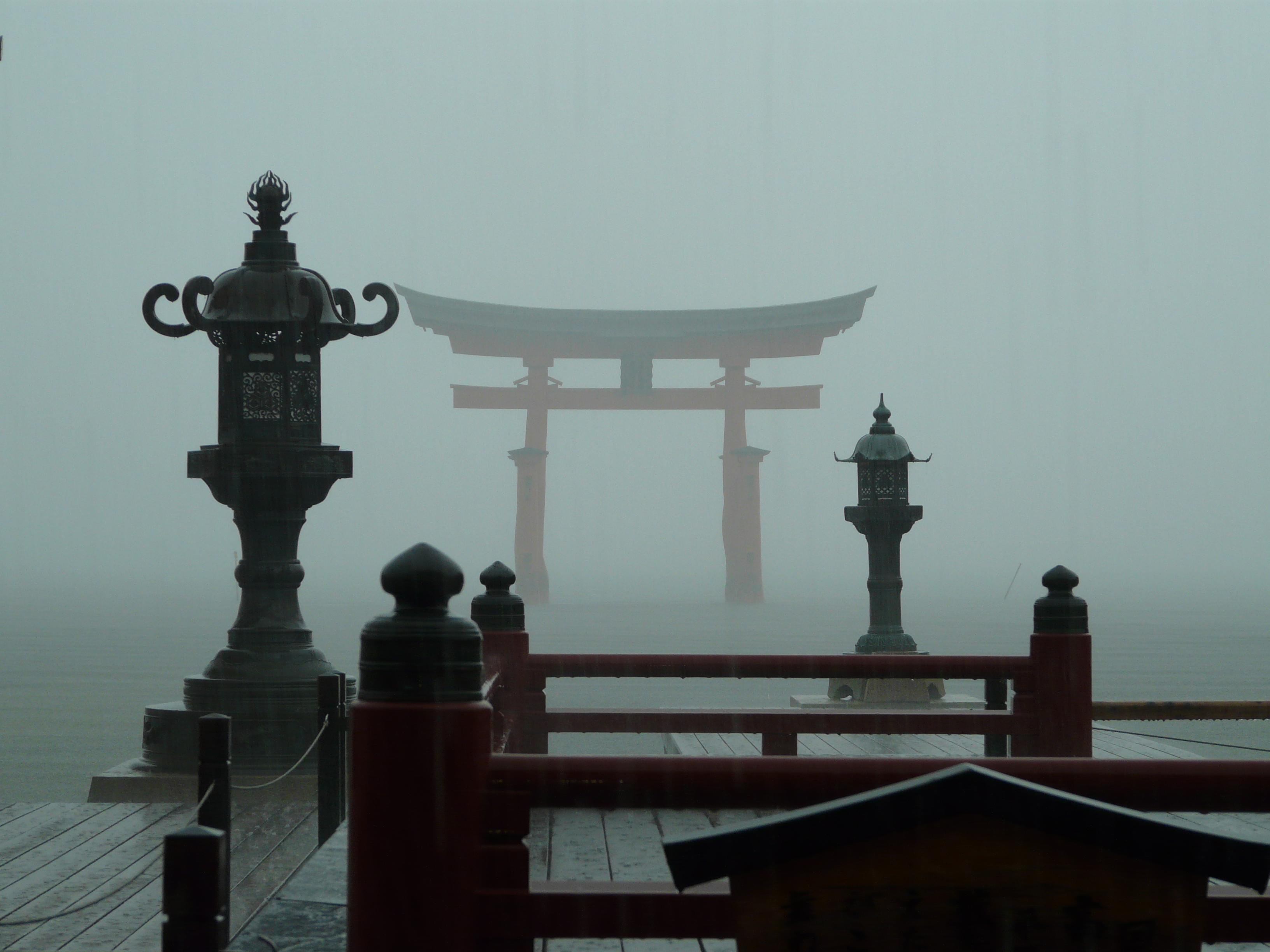 FileMiyajima torii and sanctuary 2009 07 20jpg   Wikimedia Commons 3264x2448