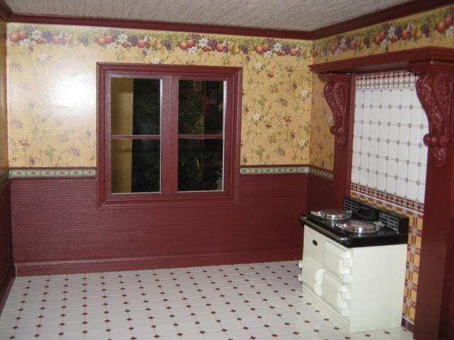 Kitchen using fruit wallpaper Victorian Kitchen Pinterest 640x480