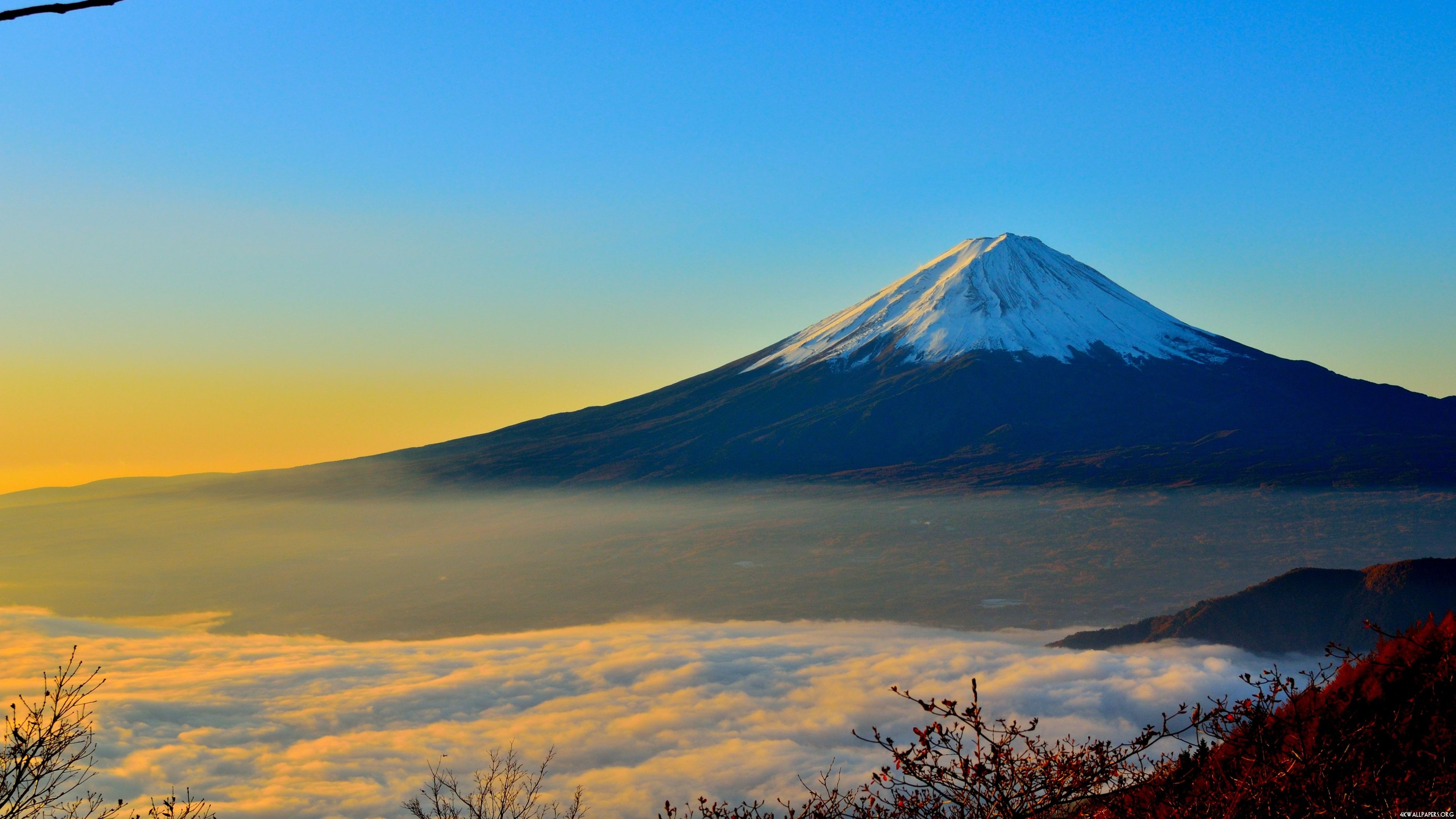 4K Mount Fuji Wallpaper ID 128 3840x2160
