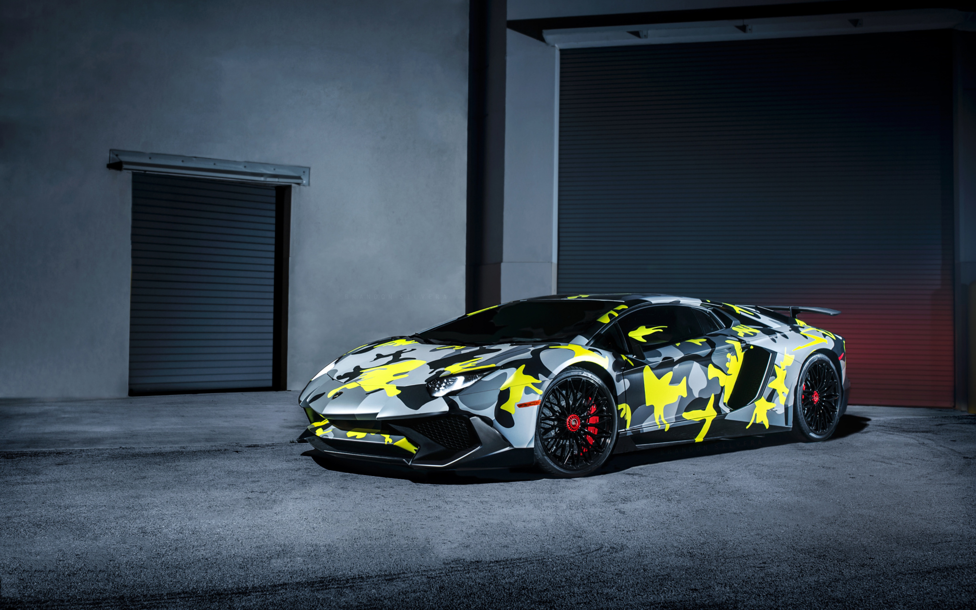 Lamborghini Aventador SV HD Wallpapers 3840x2400