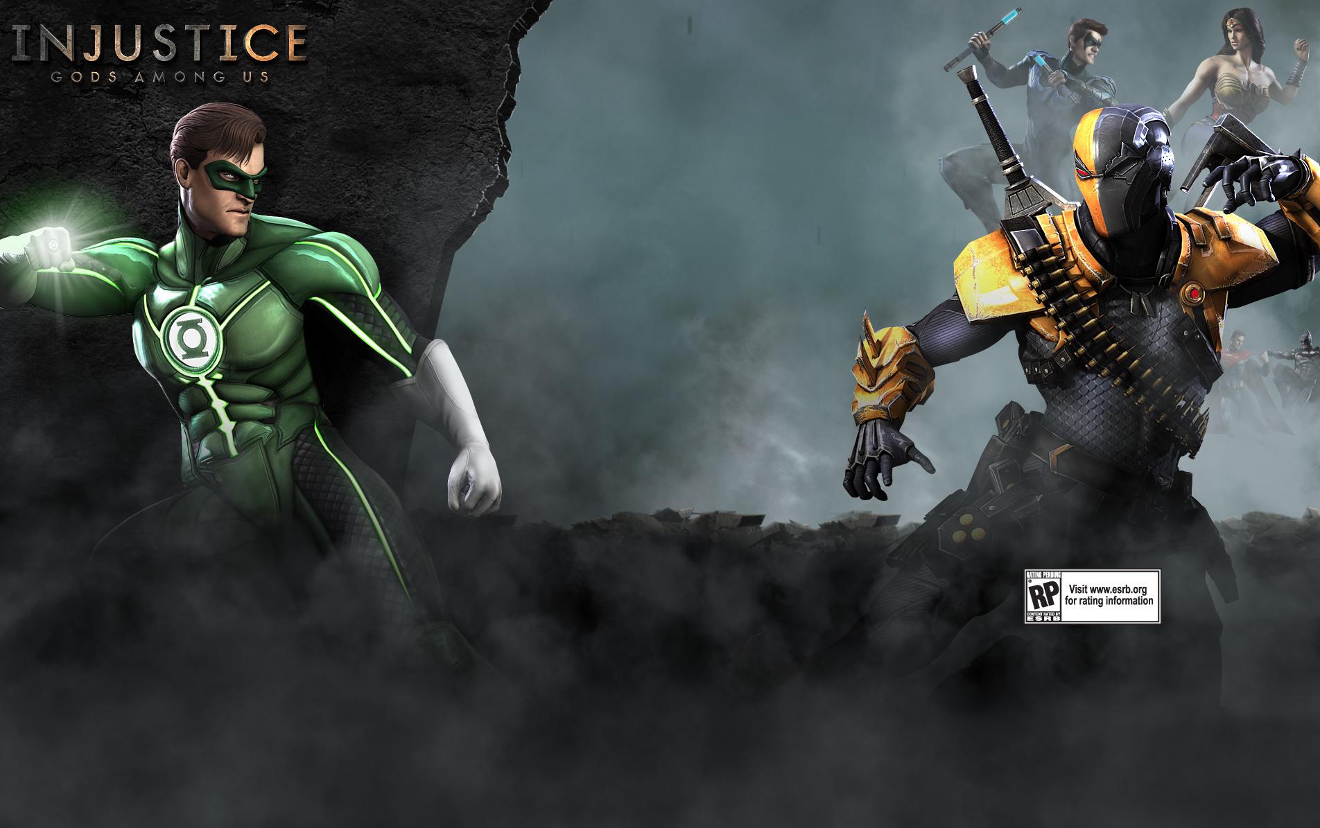 Injustice Gods Among Us Wallpaper Green Lantern 1904x1195