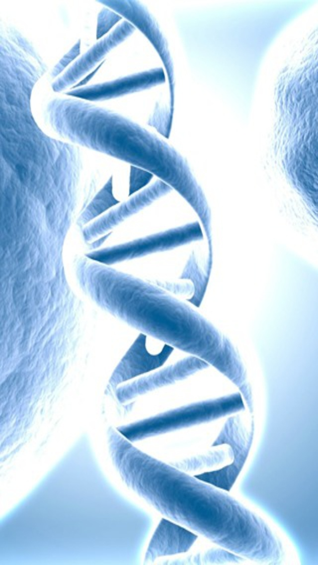 Dna Double Helix Wallpaper images 640x1136