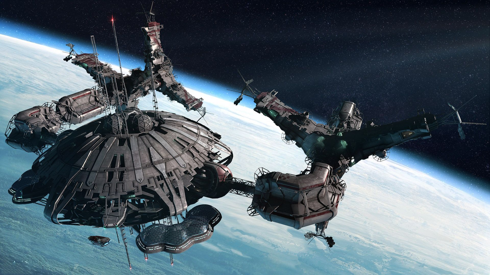Space Station Wallpaper - WallpaperSafari
