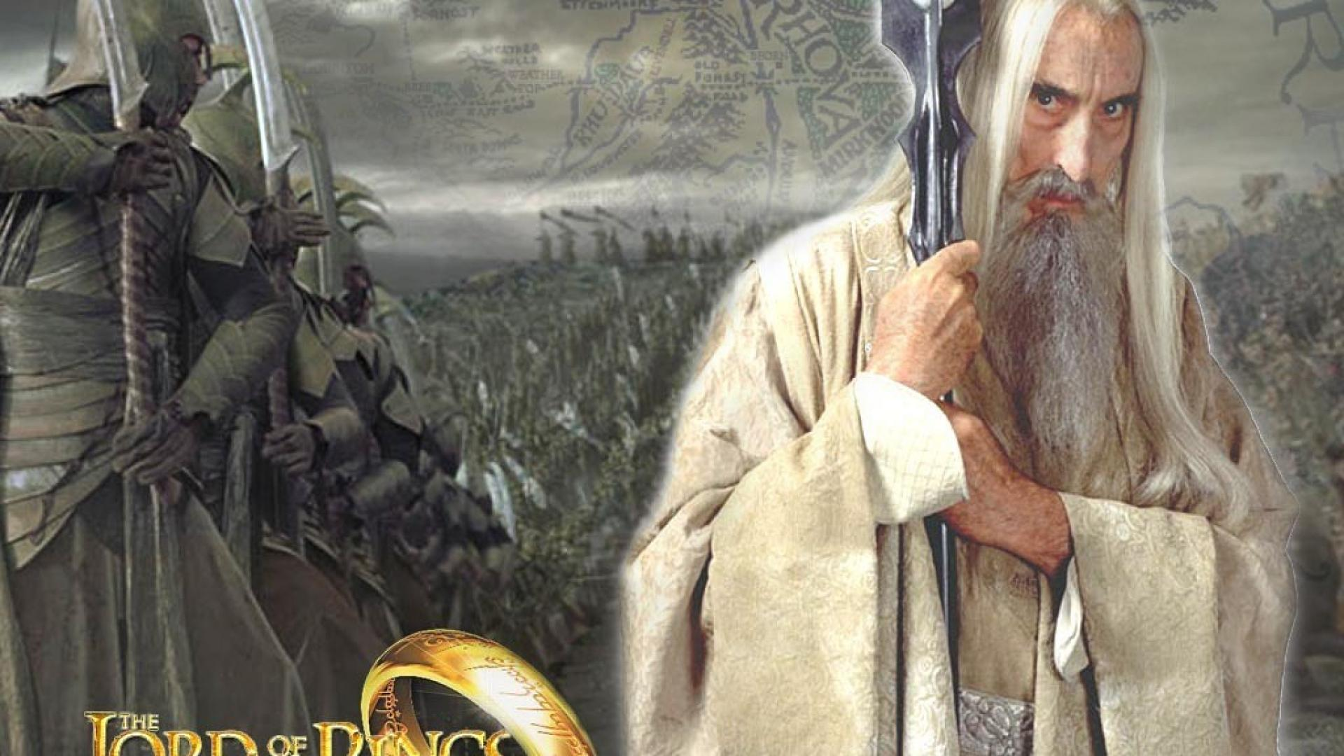 SARUMAN LORD OF THE RINGS CHRISTOPHER   Christopher Lee images 1920x1080