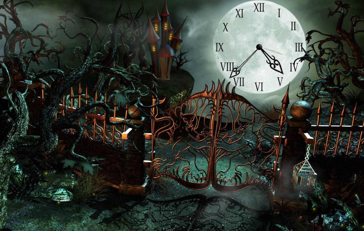 Magic Castle Clock HD Wallpaper 990 Hd Wallpapers Background