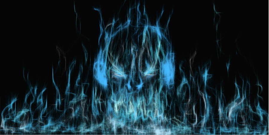 dj blue flame by snake13371993 900x454