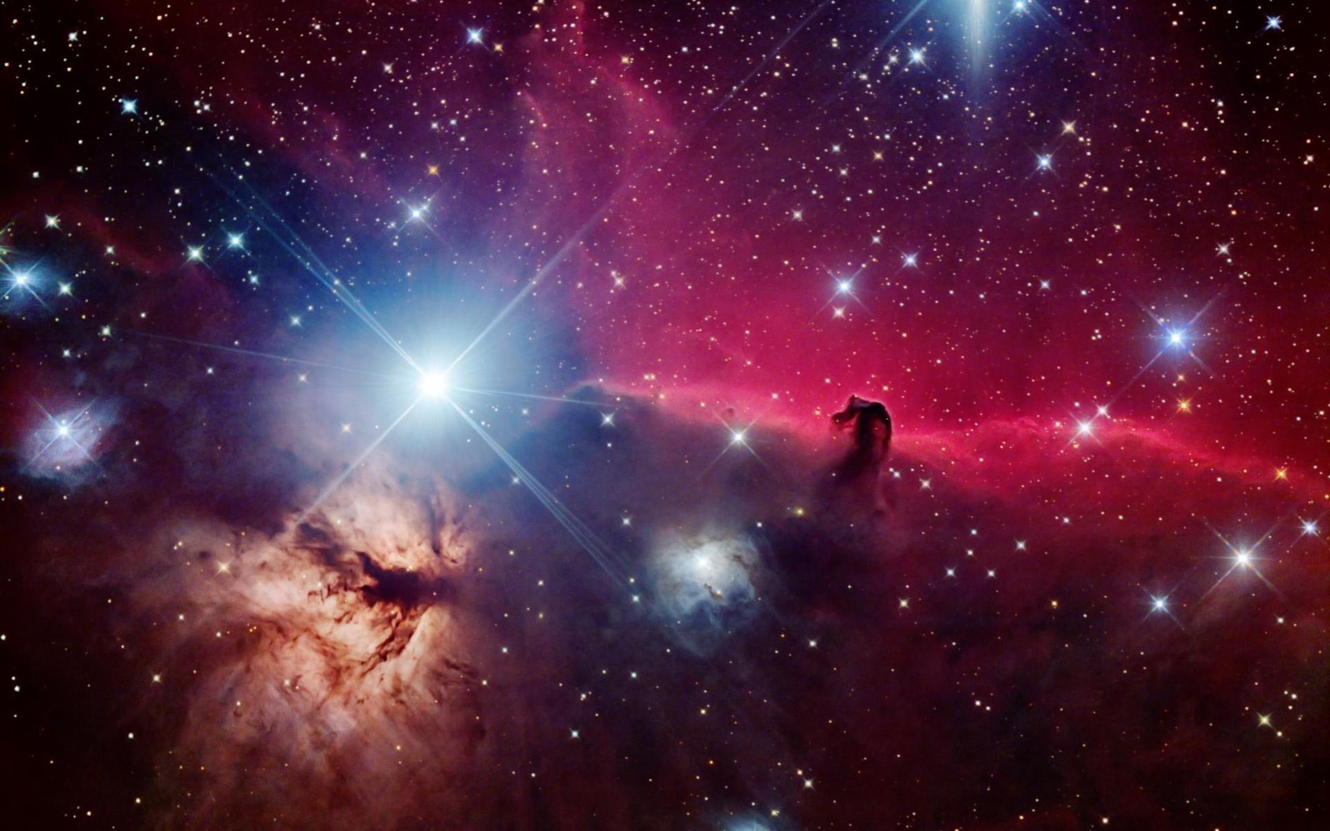 Space stars beautiful nebula Horsehead nebula wallpaper 1920x1200 1920x1200