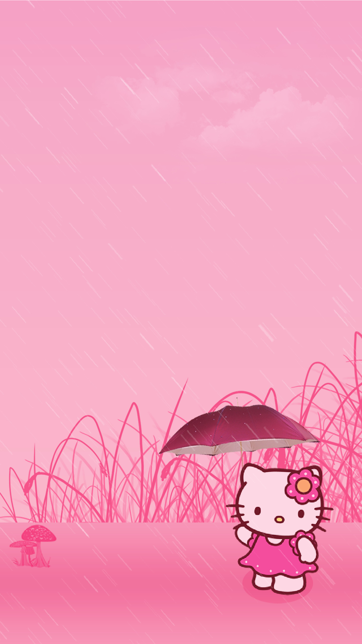 Hello Kitty Wallpaper for iPhone 72 images 1440x2560