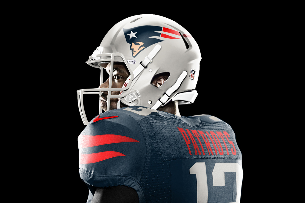JesseAlkire has put his spin on all 32 NFL Teams uniforms The 1000x667