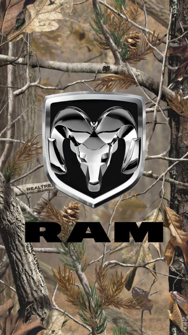 Ram Truck Logo Wallpaper Dodge ram wallpaper 640x1136