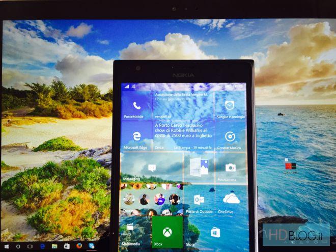 Windows 10 Mobile Dynamic Wallpaper cambia automaticamente lo sfondo 660x495