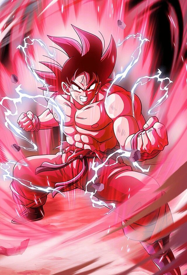 Kaioken Goku gt w in 2020 With images Anime dragon ball super 640x940