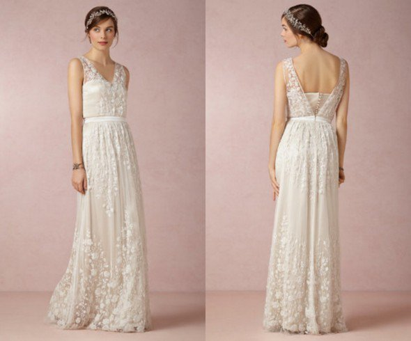 Watch online   backyard wedding dress 590x490