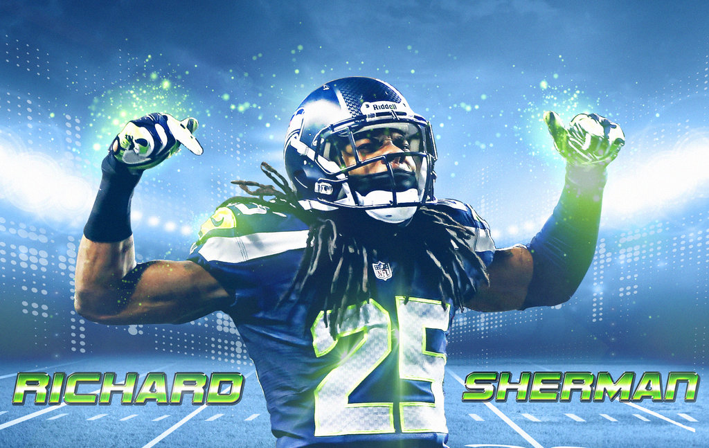 Best Corner in the Game Richard Sherman by NO LooK PaSS 1024x647