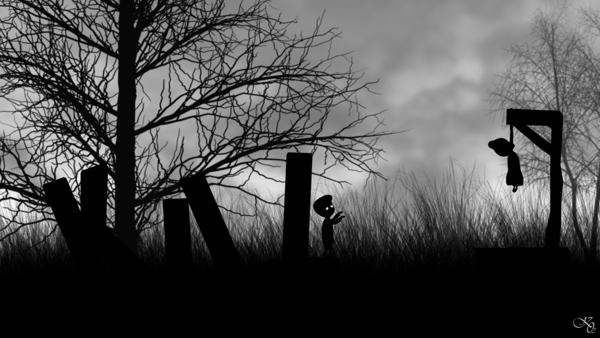 Free Download Limbo Game Wallpapers 1920x1080 For Your