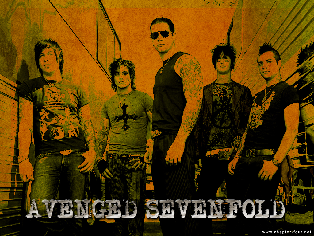 Download Wallpaper Avenged Sevenfold 1024x768