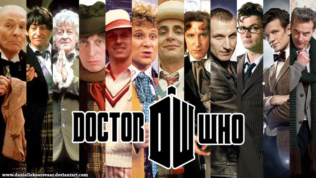 The Twelve Doctors wallpaper by daniellekoorevaar 1024x576