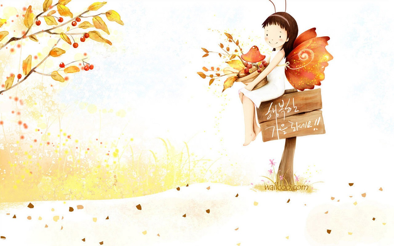 Cute cartoon wallpapers for girls wallpapersafari - Cartoon girl images hd ...