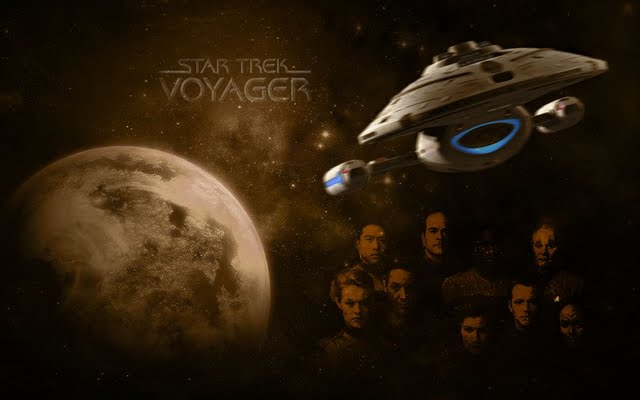High resolution Star Trek Voyager desktoplaptop wallaper Listed in 640x400