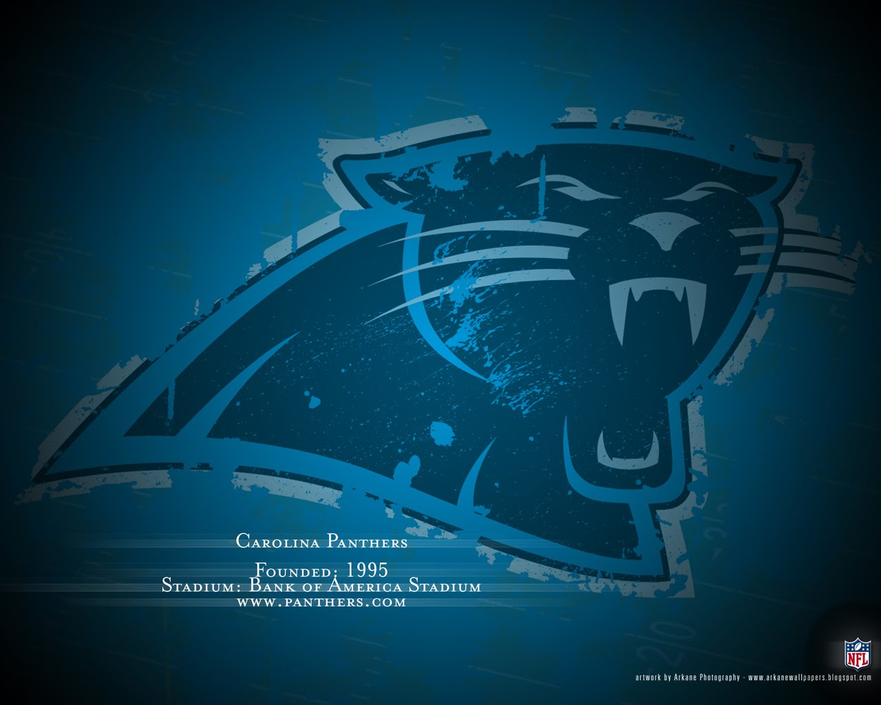 Arkane NFL Wallpapers Profile   Carolina Panthers 1280x1024