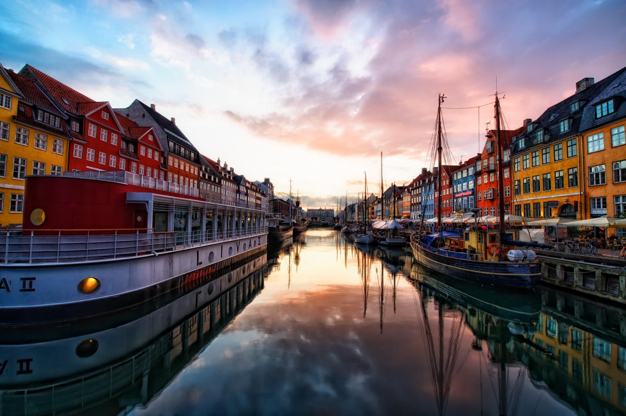 Download Nyhavn Copenhagen Denmark Desktop and mobile wallpaper 2101x1398