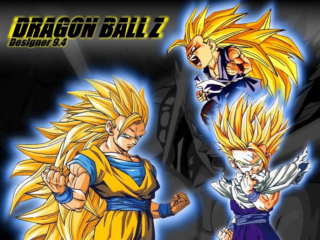 Goku and Gohan Goku and Gohan Wallpaper 1024x768