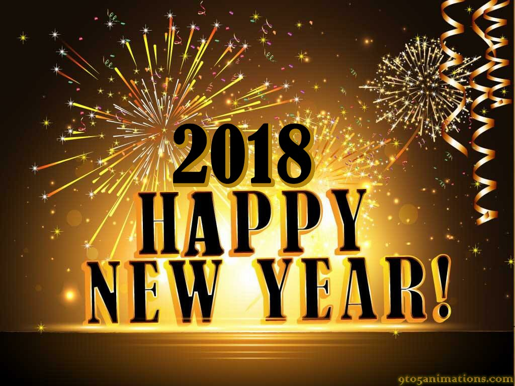 Best Happy New Year Golden Backgrounds HD 9To5AnimationsCom 1024x768