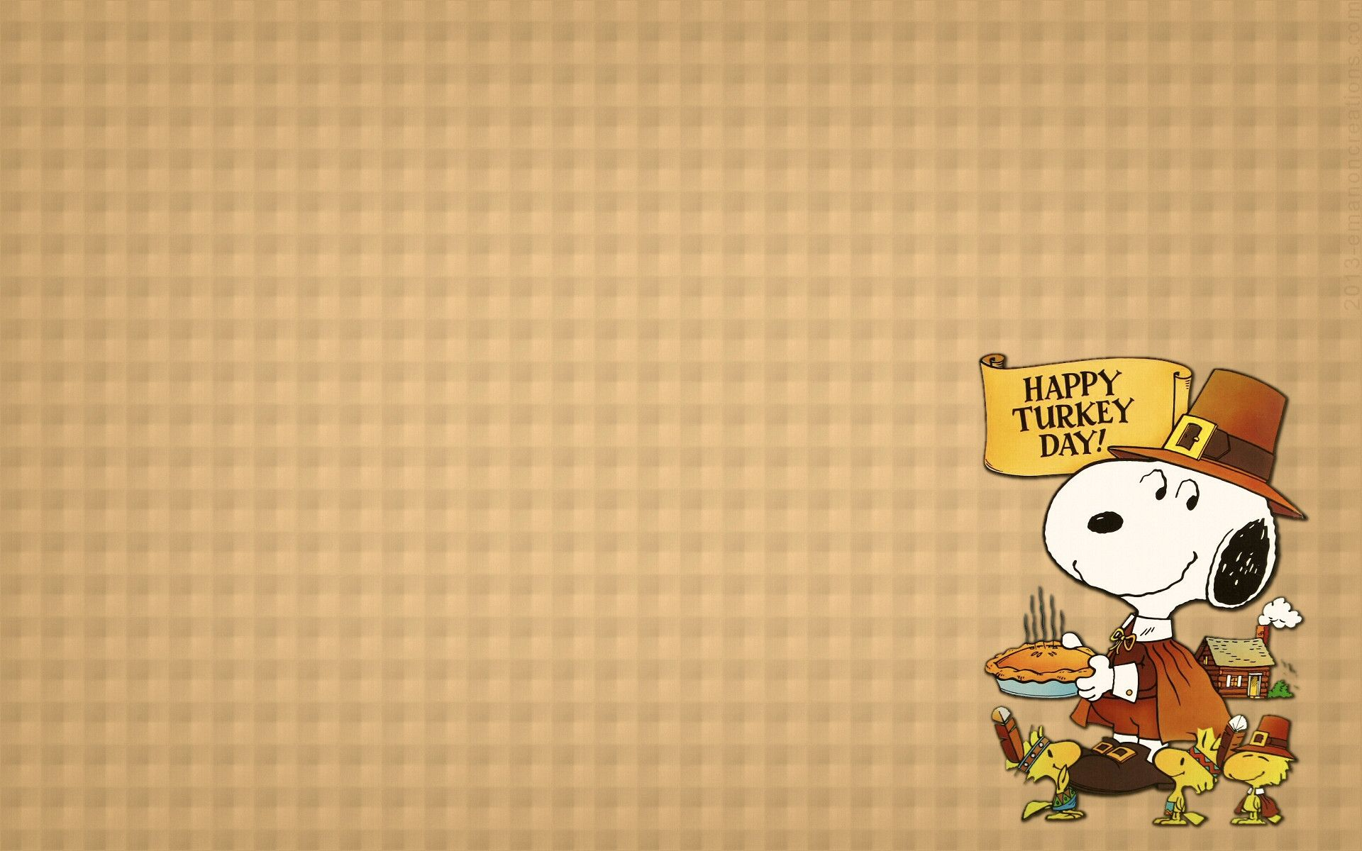 Peanuts thanksgiving wallpaper wallpapersafari - Snoopy thanksgiving wallpaper ...