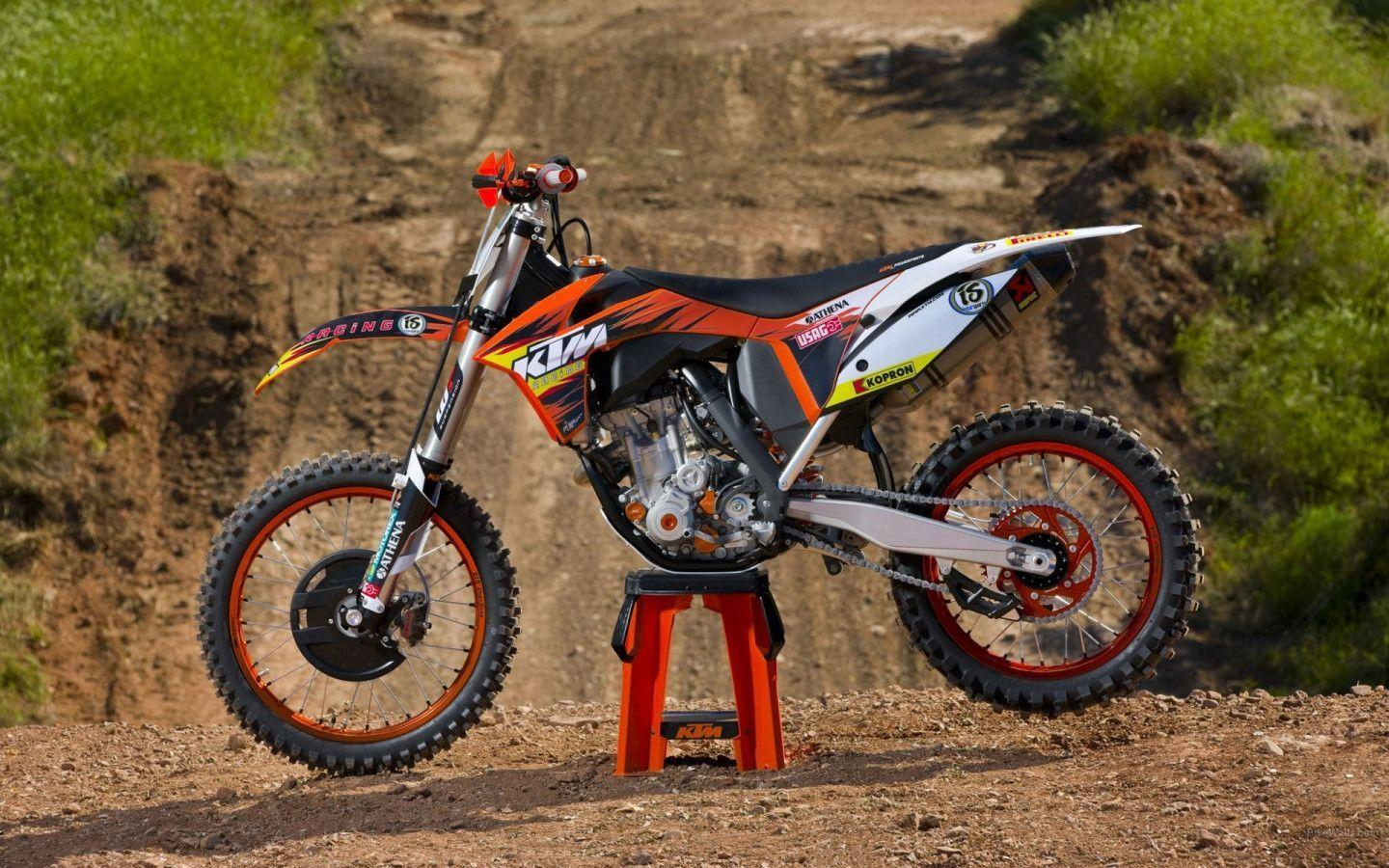 Wallpapers Motocross KTM 1440x900