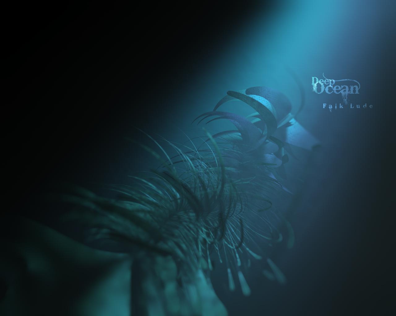 Deep Ocean by Falk Lude   Desktop Wallpaper 1280x1024
