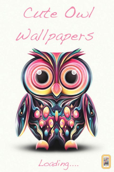 Cute Owl Wallpapers for iPhone   App Info Stats iOSnoops 480x720