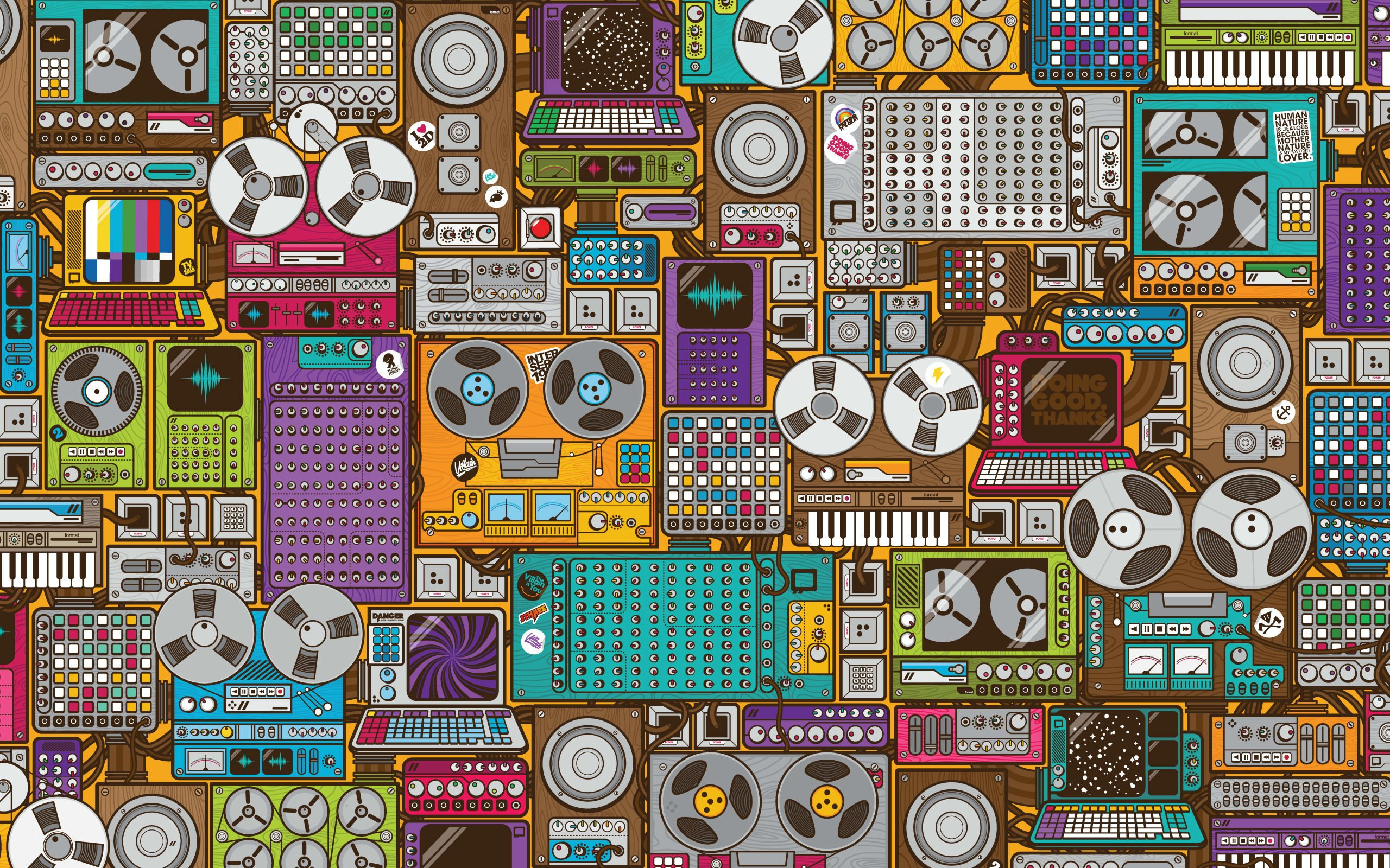 Synthesizer Wallpaper 64 images 2560x1600