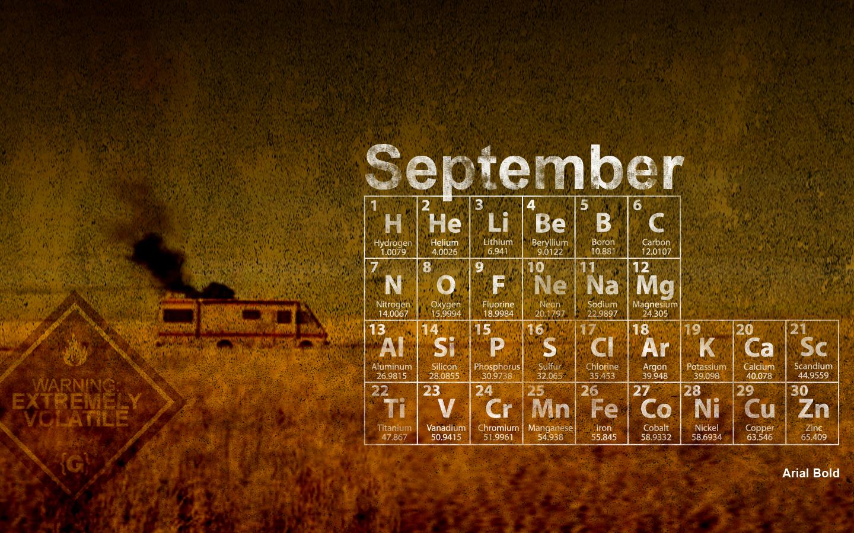 Amazing September wallpaper calendars