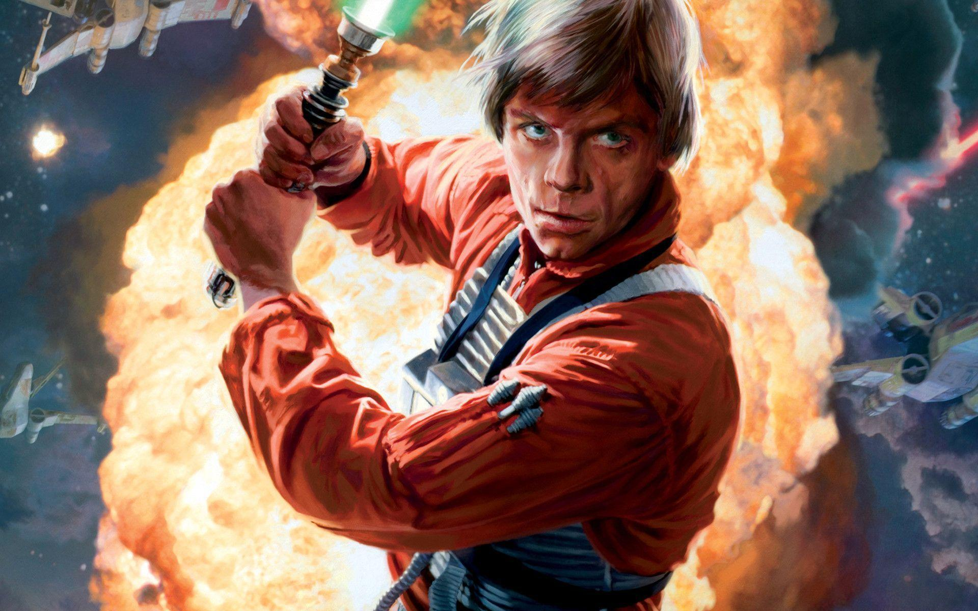 Luke Skywalker Wallpapers 1920x1200