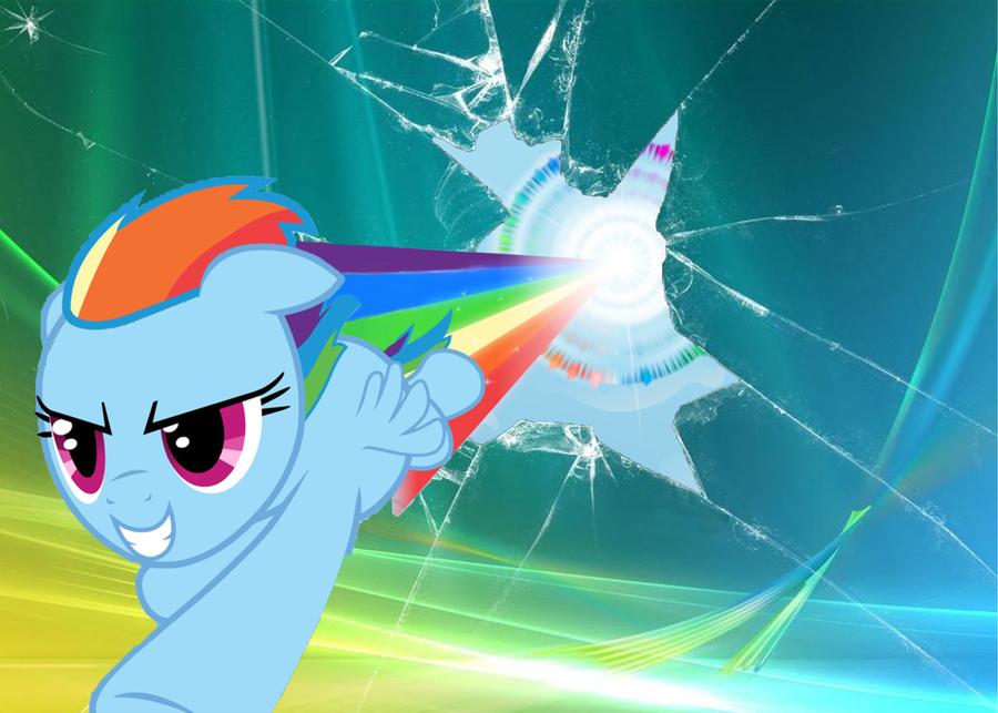 Rainbow Dash Desktop By TTD33x 900x643