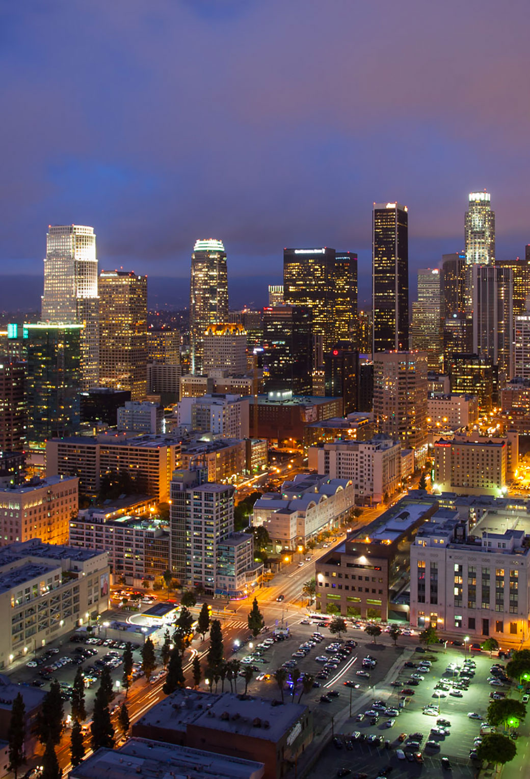 Free Download Downtown Los Angeles 3wallpapers Iphone