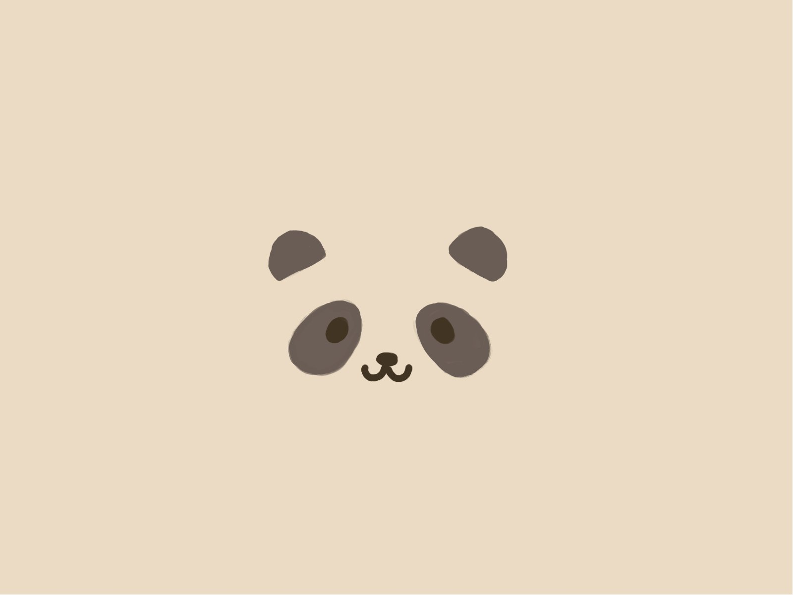 Free Crazy Pandalism Panda Wallpaper [