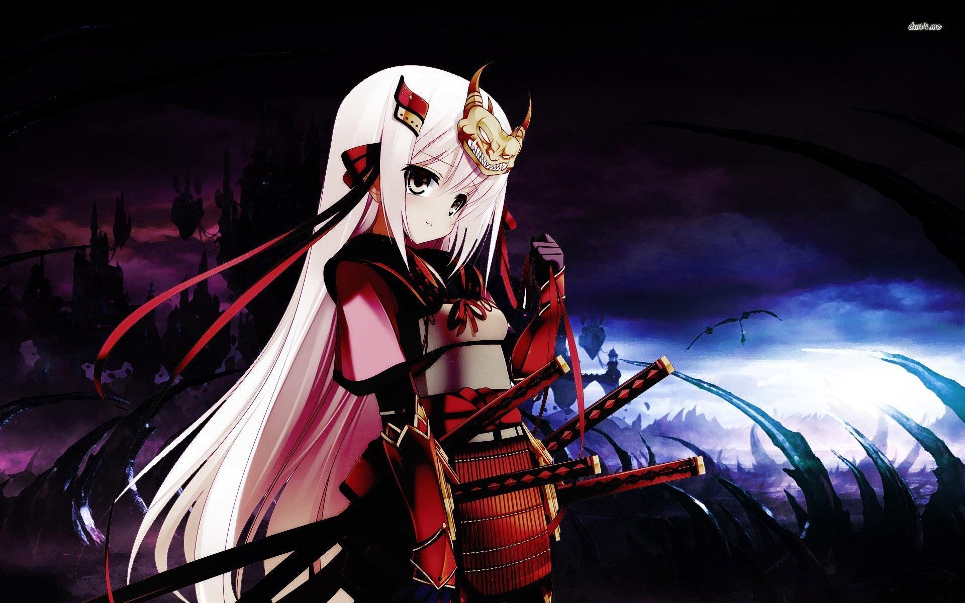Samurai girl wallpaper   Anime wallpapers   14680 1920x1200