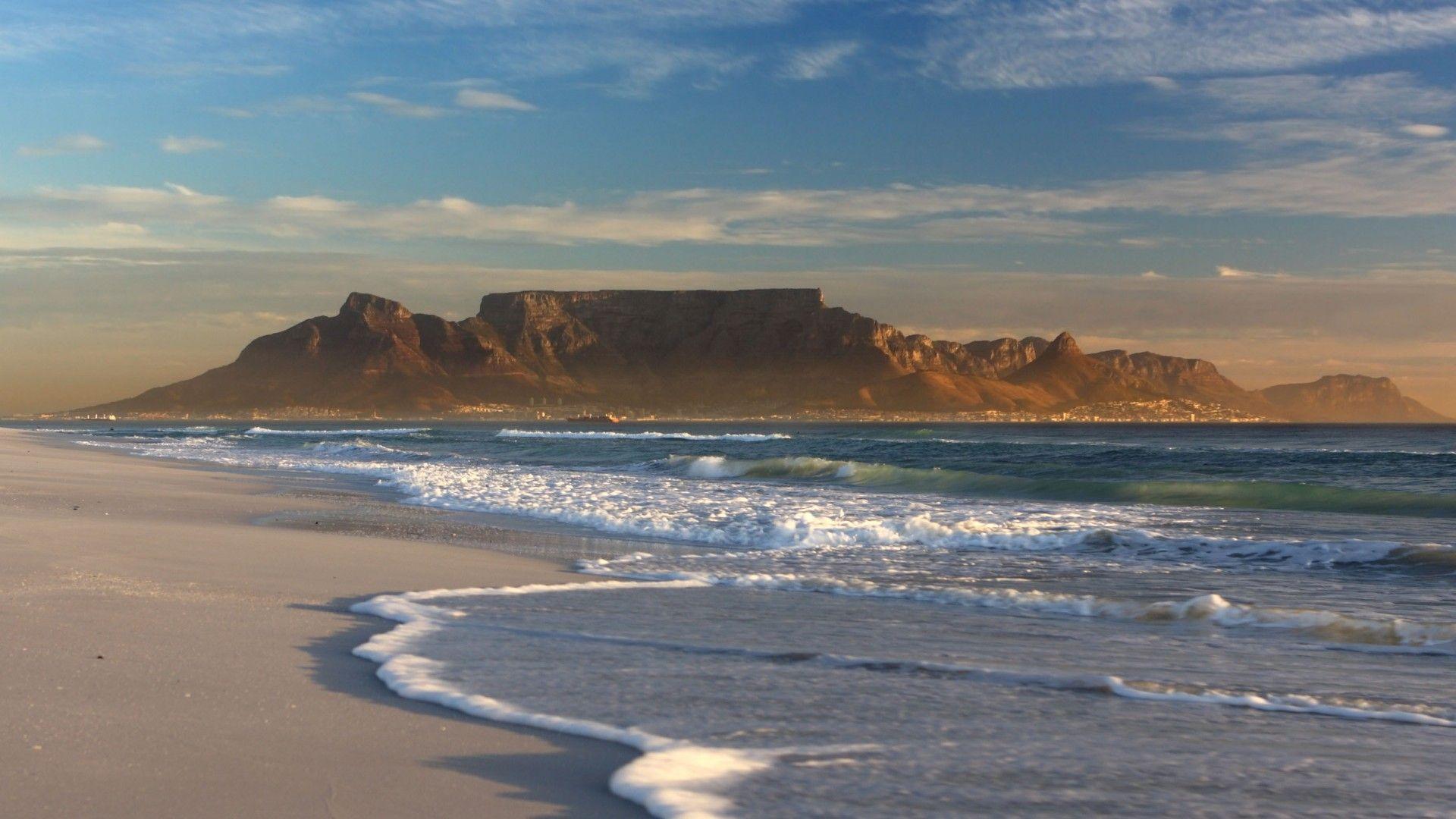 Table Mountain South Africa Wallpaper 1920x1080 Hot HD Wallpaper 1920x1080