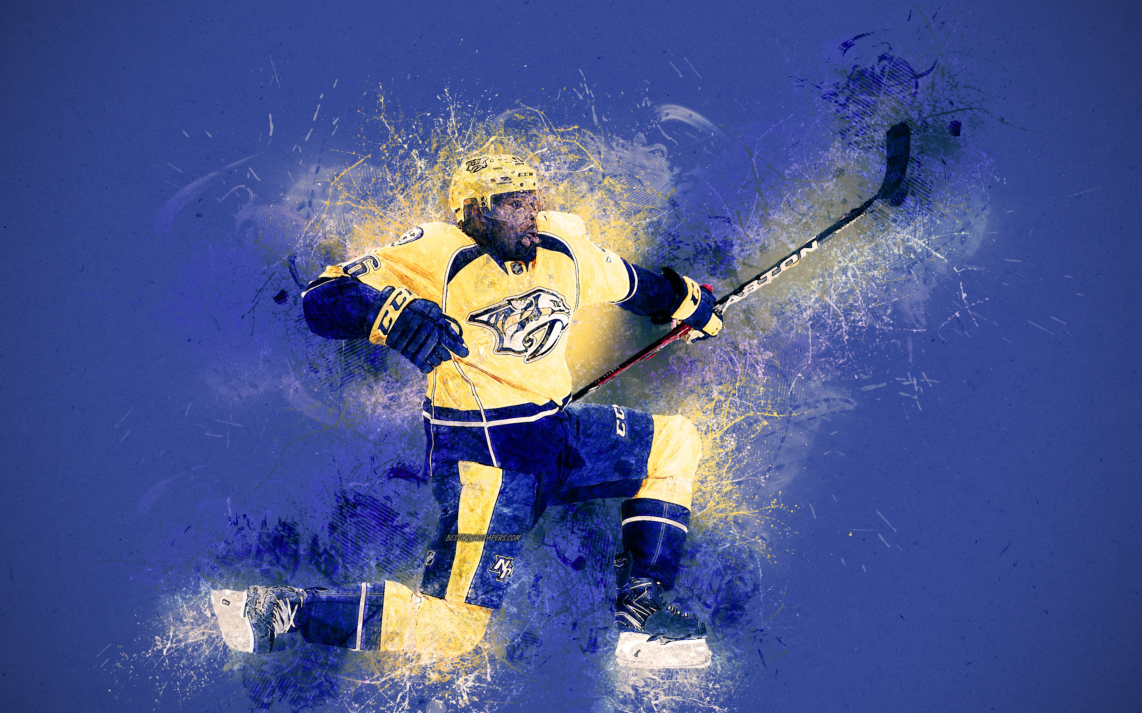 Download wallpapers Pernell Karl Subban 4k Canadian hockey 3840x2400