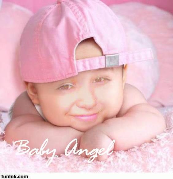 Baby Angel Wallpaper Background Theme Desktop 564x585