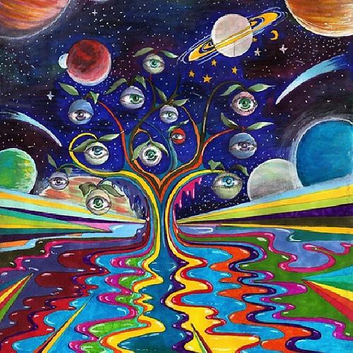 Trippy Acid Wallpaper Wallpapersafari