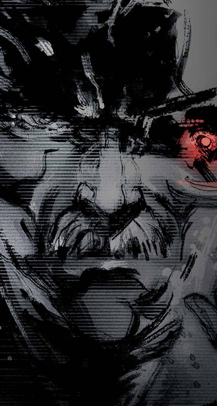 50 Metal Gear Solid Iphone Wallpaper On Wallpapersafari
