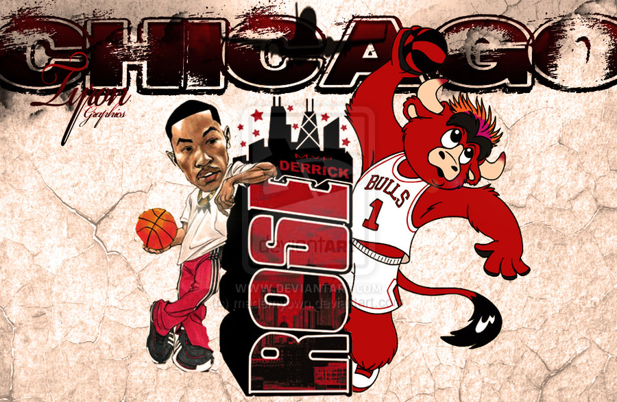 Derrick Rose Chicago Bulls Wallpaper By Jaidynm On Deviantart 900x587