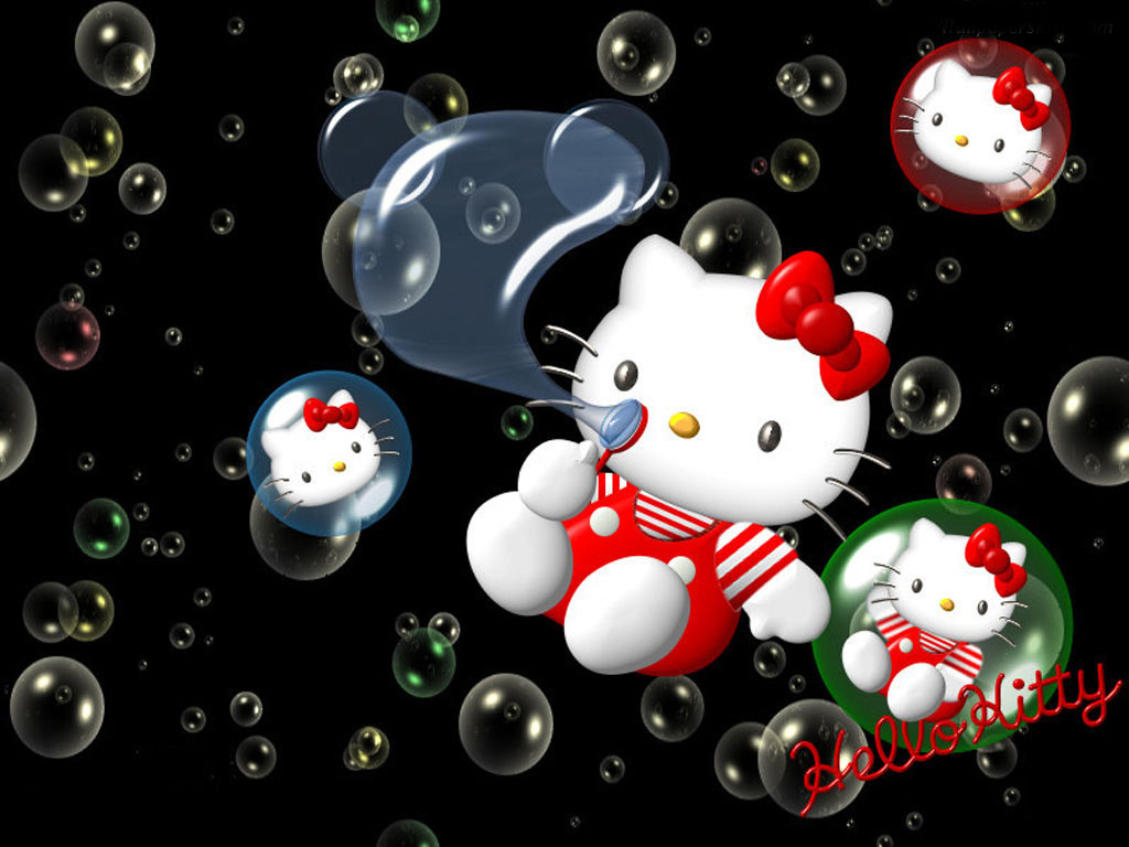 Hello Kitty Wallpapers and Backgrounds   w8themes 1024x768